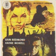 Cine: ALTA TRAICIÓN. SENCILLO DE PROCINES. CINE MARI - LEÓN 1953. ¡IMPECABLE!. Lote 31007735