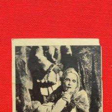 Cine: TROIKA, PRIMER FILM SONORO RUSO, 1930, SCHLETTOW, TCHEKPWA, CARTONCILLO CON PUBL GRAN TEATRO FORTUNY. Lote 31269585