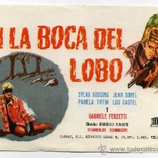 Cine: EN LA BOCA DEL LOBO, CON SYLVA KOSCINA.. Lote 31356718