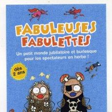 Cine: FABULEUSES, DIBUJOS ANIMADOS.. Lote 31390688