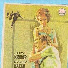 Cine: LA CLAVE DEL ENIGMA. HARDY KRUGER, STANLEY BAKER. JANO. CINE TARRAGONA, TARRAGONA. Lote 31579720