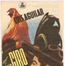 Cine: EL GALLO GIRO - LUIS AGUILAR, CARMELITA GONZÁLEZ - DIRECTOR ALBERTO GOUT. Lote 31936364