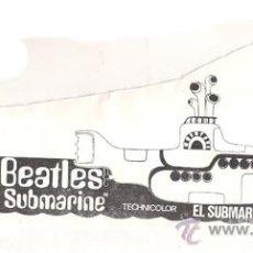 Cine: EL SUBMARINO AMARILLO YELLOW SUBMARINE PROGRAMA CLICHE CB THE BEATLES 4. Lote 46915469