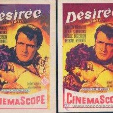 Cine: DESIREE (CON PUBLICIDAD). Lote 31686431