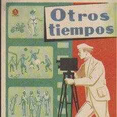 Cine: OTROS TIEMPOS. SENCILLO DE DELTA FILMS.CINE COLISEUM 1949.. Lote 31829739