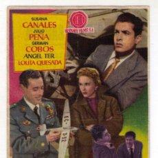Cine: RETORNO A LA VERDAD - SUSANA CANALES - 1955 - PUBLICIDAD EN TEATRO ESPAÑOL. Lote 31836185