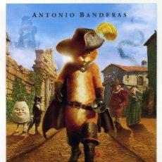 Cine: EL GATO CON BOTAS, DIBUJOS ANIMADOS.. Lote 36551658