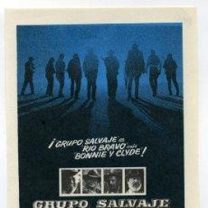 Cine: GRUPO SALVAJE, CON WILLIAN HOLDEN.. Lote 297056778