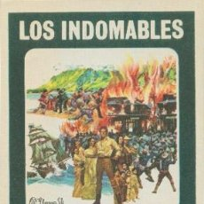 Cine: LOS INDOMABLES. Lote 32135733