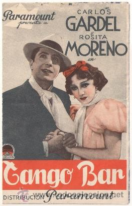 Risultati immagini per tango bar gardel