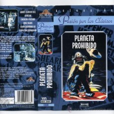 Cine: PLANETA PROHIBIDO, CON WALTER PIDGEON. VIDEO VHS.. Lote 32199498