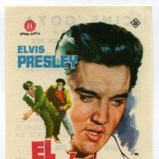 Cine: EL INDOMITO, CON ELVIS PRESLEY.. Lote 277298628