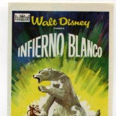 Cine: INFIERNO BLANCO, PROD. WALT DISNEY.. Lote 114656532