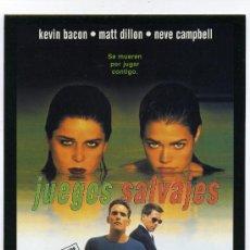 Cine: JUEGOS SALVAJES, CON NEVE CAMPBELL.. Lote 218342766