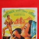 Cine: LA CASTELLANA DEL LIBANO, IMPECABLE SENCILLO ORIGINAL SOLIGO, CON PUBLICIDAD CINE MONTERROSA. Lote 32268461