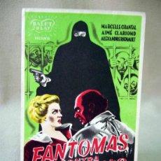Cine: PROGRAMA DE CINE, FANTOMAS CONTRA FANTOMAS, ROBERT VERNAY. Lote 32320758