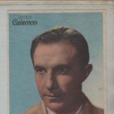 Cine: FOLLETO DE MANO PELICULA CAMPEONES, FÚTBOL, JACINTO QUINCOCES, RICARDO ZAMORA, GUILLERMO GOROSTIZA. Lote 32384458