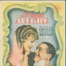 Cine: LA VIUDA ALEGRE. Lote 32454741
