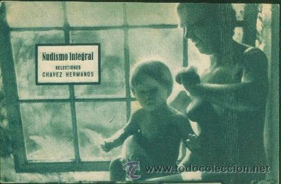 NUDISMO INTEGRAL (CON PUBLICIDAD) (Cine - Folletos de Mano - Documentales)