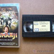 Cine: PELICULA DE VIDEO VHS JUMANJI - ROBIN WILLIAMS - TRISTAR PICURES 1996. Lote 32461480