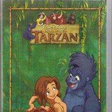 Cine: PELICULA EN VHS TARZAN !COMO SE HIZO¡. DIBUJOS ANIMADOS.. Lote 32464778