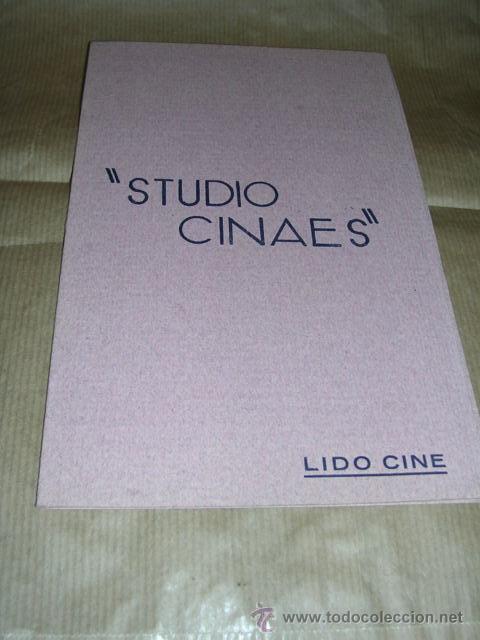 PROGRAMA ( VANGUARDIAS ) LE RAIL DE LUPU PICK, - RIEN QUE LES HEURES DE A. CAVALCANTI (Cine - Folletos de Mano - Documentales)