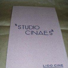 Cine: PROGRAMA ( VANGUARDIAS ) LE RAIL DE LUPU PICK, - RIEN QUE LES HEURES DE A. CAVALCANTI. Lote 32489117