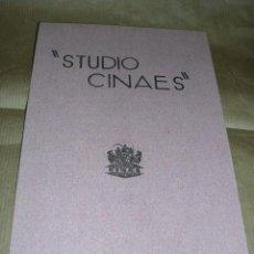 Cine: PROGRAMA ( VANGUARDIAS ) ROBOTS. DE EUGENE DESLAW - YEDO FILM DE T. KINUGASA - CRISTALIZACIONES PRO. Lote 32489424