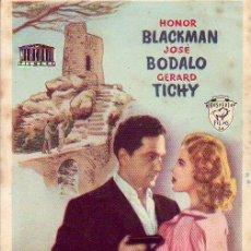 Folhetos de mão de filmes antigos de cinema: MANCHAS DE SANGRE EN LA LUNA. Lote 32717076