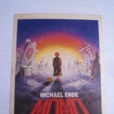 Cine: MOMO MICHAEL ENDE - FOLLETO DE MANO ADHESIVO ORIGINAL ESTRENO. Lote 32747092