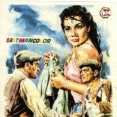 Cine: LA VENGANZA, CARMEN SEVILLA.- SENCILLO IMPRESO CINEMA GOYA DE ALCOY . Lote 32781298