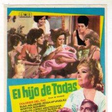 Cine: EL HIJO DE TODAS - DOLORES DEL RIO - 1967 - SIN PUBLICIDAD. Lote 32787518