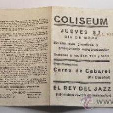 Cine: PROGRAMA DE MANO TEMPESTAD EN EL MONTBLANC. 1932. Lote 32805344