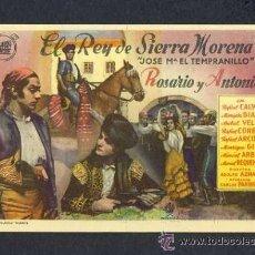 Cine: EL REY DE SIERRA MORENA. Lote 32813974