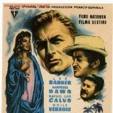 Cine: EL SECRETO DE LOS HOMBRES AZULES. Lote 32813992