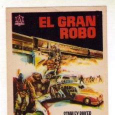 Cine: EL GRAN ROBO - STANLEY BAKER - 1967 - SIN PUBLICIDAD. Lote 32815017