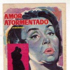 Cine: AMOR ATORMENTADO - TITA MERELLO - 1960 - SIN PUBLICIDAD. Lote 32816367