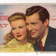 Cine: ESPEJISMO DE AMOR - GINGER ROGERS - 1940 - PUBLICIDAD EN TEATRO-CINE AVENIDA. Lote 32817716