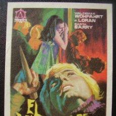 Foglietti di film di film antichi di cinema: EL VAMPIRO DE LA AUTOPISTA. Lote 32887420
