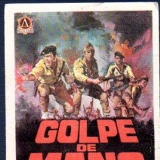 Cine: PROGRAMA DE CINE GOLPE DE MANI, SIN PUBLICIDAD. Lote 32957220