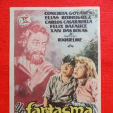 Cine: UN FANTASMA LLAMADO AMOR, CONCHITA GOYANES, IMPECABLE SENCILLO DE JANO ORIGINAL, SIN PUBLI. Lote 32956510