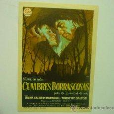 Cine - PROGRAMA CINE CUMBRES BORRASCOSAS - 32996544