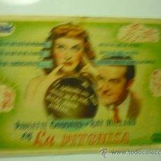 Cine: PROGRAMA CINE LA PITONISA PAULETTE GODDARD. Lote 33046150