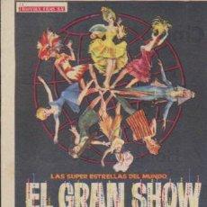Cine: EL GRAN SHOW. SENCILLO DE HISPAMEX FILMS. CINE MERIDIANA 1967. ¡IMPECABLE!. Lote 33067336