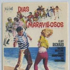 Cine: PROGRAMA DE CINE: DIAS MARAVILLOSOS PC-1866,3. Lote 183465938