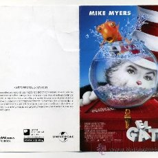 Cine: EL GATO, CON MIKE MYERS.. Lote 114700919