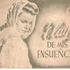 Cine: PROGRAMA DE CINE DOBLE, EL LAGO DE MIS ENSUEÑOS, FORMATO 11,5 X 9 CM. Lote 33305786