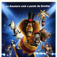 Cine: MADAGASCAR 3. DIBUJOS ANIMADOS. Lote 114775878