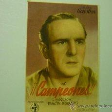 Cinema - PROGRAMA CINE CAMPEONES¡¡-GOROSTIZA - 33393067