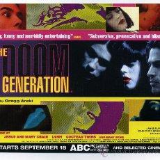 Cine: THE DOOM GENERATION, CON JAMES DUVAL.. Lote 190483952